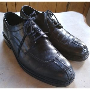 Cole Haan Country SZ 9.5 Black Leather Oxfords EUC